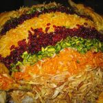 طرز تهیه رشته پلو با مرغ غذای ویژه چهارشنبه سوری