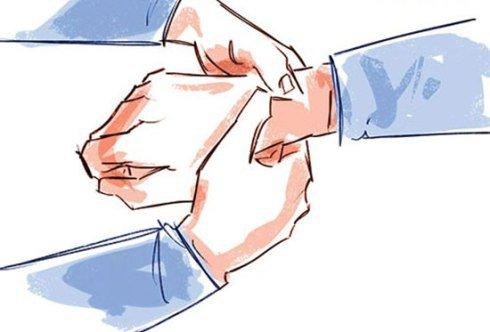 آموزش ماساژ دست