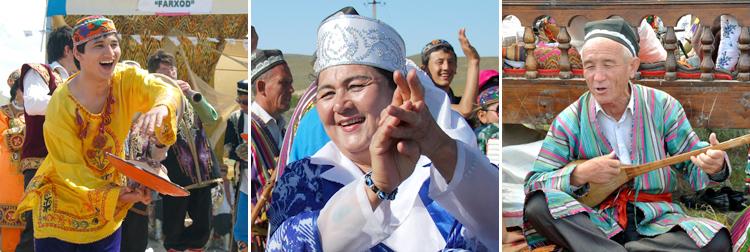 مراسم جشن نوروز در تاجیکستان