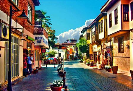 جاذبه های دیدنی آنتالیا ترکیه