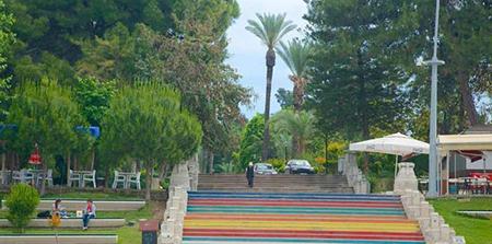پارک Karaalioglu در آنتالیا ترکیه