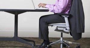 چگونه حتی وقتی نشسته ایم وزن کم کنیم