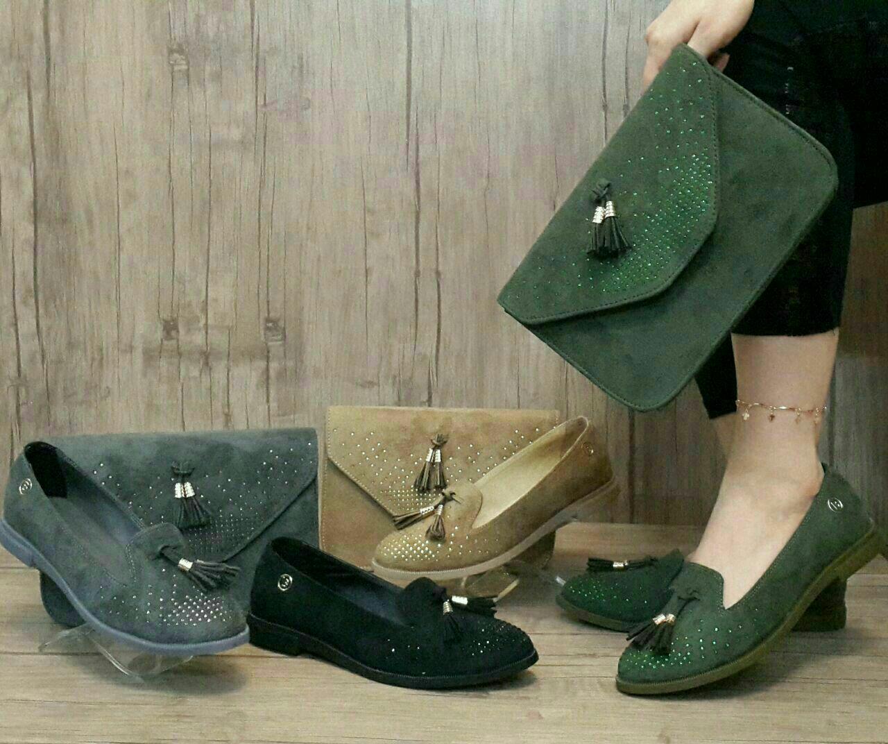ست کیف و کفش زیبا