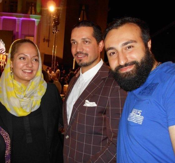 یاسین رامین همسر مهناز افشار از زندان اوین آزاد شد
