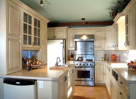 کابینت های تمام چوب برای آشپزخانه