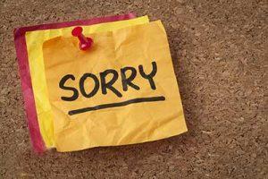 بهترین روش برای عذرخواهی از دید روانشناسی