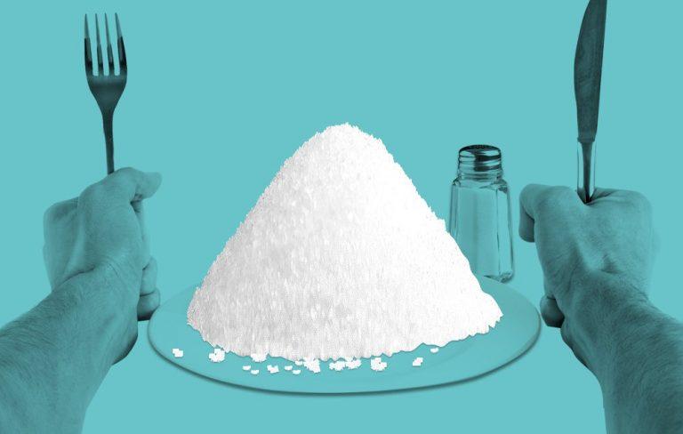تاثیر نمک بر چاقی
