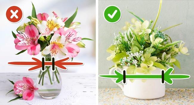 تازه نگه داشتن گل ها