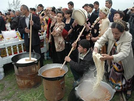 عید نوروز در تاجیکستان