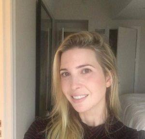 تصاویر بدون آرایش ایوانکا ترامپ