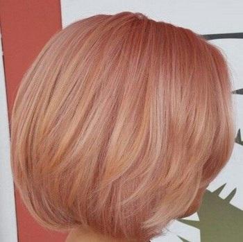 ترکیب رنگ مو رز گلد