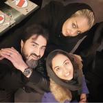"""محمدرضا علیمردانی""""صداپیشه دیرین دیرین"""" به همراه همسر و دخترش"""