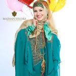 عکس آتلیه ای و زیبا ملیکا زارعی(خاله شادونه) به مناسبت سالروز تولدش