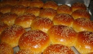 نان شیرمال با خمیر بربری