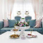 مدل دکوراسیون رمانتیک خانه برای تازه عروس ها