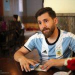 عکس/ رضا پرستش، بدل ایرانی لیونل مسی