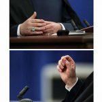 دلیل لرزش دست روحانی در مناظره کاندیداها چه بود؟