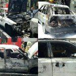 عکس های فاجعه آتشسوزی در خیابان شریعتی
