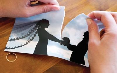 طلاق, داستان عاشقانه