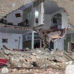 ریزش ساختمان چهار طبقه در مرکز تهران
