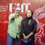 تصاویر بازیگران در اختتامیه جشنواره جهانی فجر+تصاویر
