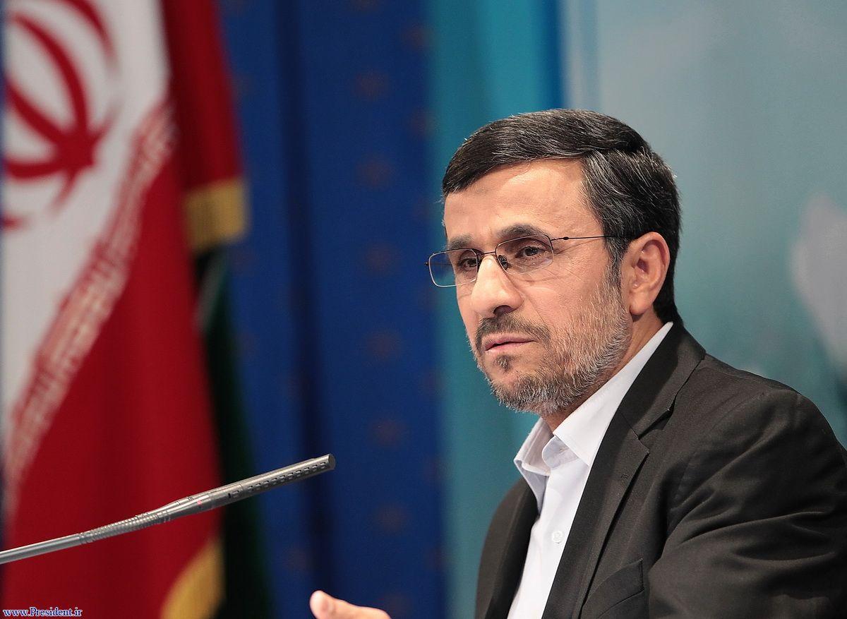 ممنوع التصویر شدن محمود احمدی نژاد