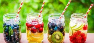 آب طعم دار خانگی،یک نوشیدنی سالم