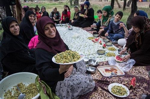 آداب و رسوم پنجاه به در قزوین