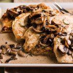 طرز تهیه خوراک مرغ با قارچ ایتالیایی