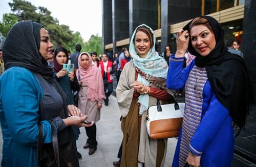 شنبم قلی خانی و لاله اسکندری در جشنواره فیلم فجر