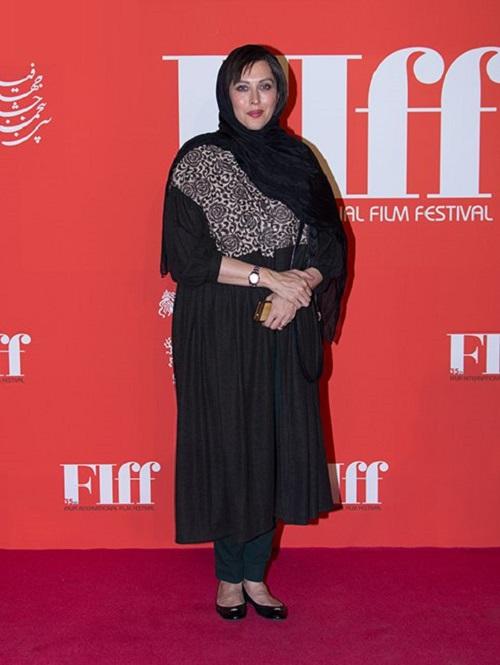مهتاب کرامتی در جشنواره جهانی فیلم فجر 96