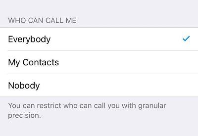 آموزش تصویری نحوه فعال سازی تماس صوتی تلگرام