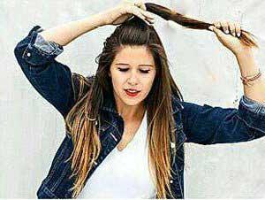 آموزش درست کردن مدل مو جمع در عرض چند دقیقه