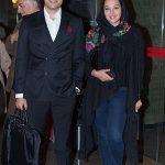 عکس های اشکان خطیبی و همسرش در اختتامیه جشنواره جهانی فیلم فجر ۳۵