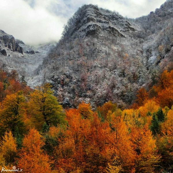 مکانی زیبا در ایران که هوش از سرتان می برد+تصاویر