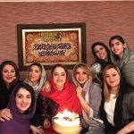 جشن تولد ۳۲ سالگی نرگس محمدی