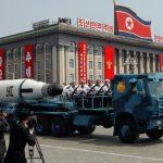 تصویری از موشک بالستیک جدید کره شمالی
