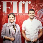 اشکان خطیبی و همسرش آناهیتا درگاهی در جشنواره جهانی فیلم فجر
