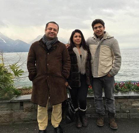 خانواده سعید کریمیان مدیر شبکه جم در ترکیه