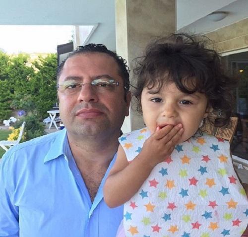 عکس سعید کریمیان و دخترش