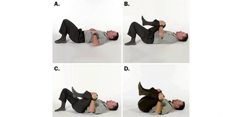 حرکات ورزشی برای کاهش درد کمر