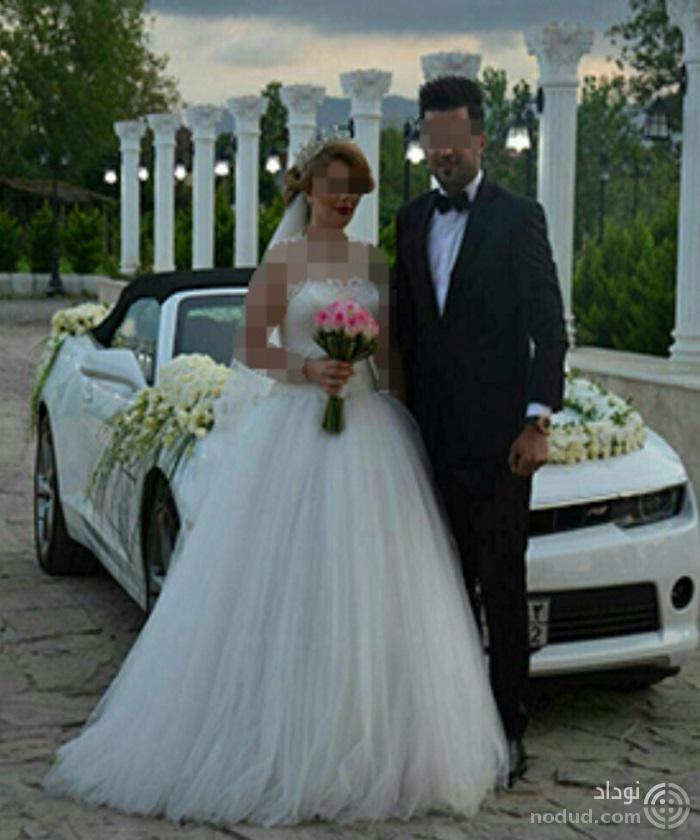 عکس عروسی دختر قالیباف