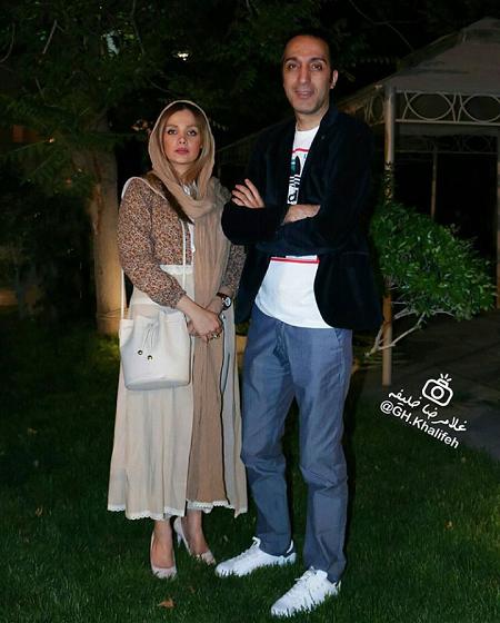 عکس جدید امیر مهدی ژوله و همسرش