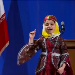 فیلم دختر بچه جذابی که در جشن حامیان روحانی غوغا کرد