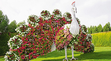 باغ معجزه،بزرگترین باغ گل دنیا در دبی