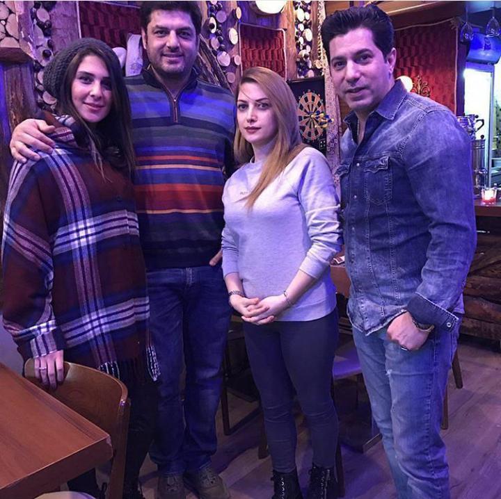عکس سام درخشانی و همسرش در ترکیه