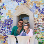 تبریک عاشقانه سروین بیات به همسرش رضا قوچان نژاد + عکس