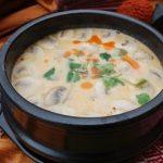 سوپ قارچ با سبزیجات مخصوص گیاه خواران