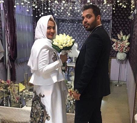 مراسم ازدواج فریبا باقری