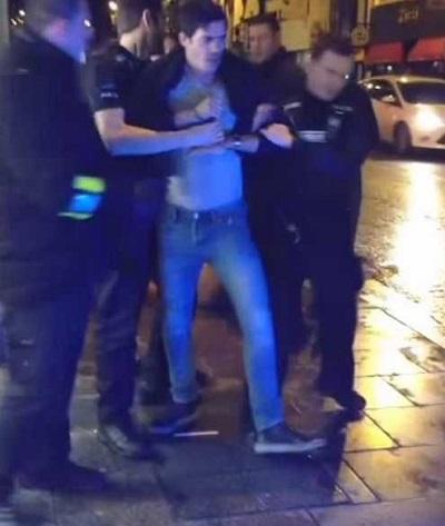 بازیکن معروف فوتبال در حالت مستی بازداشت شد